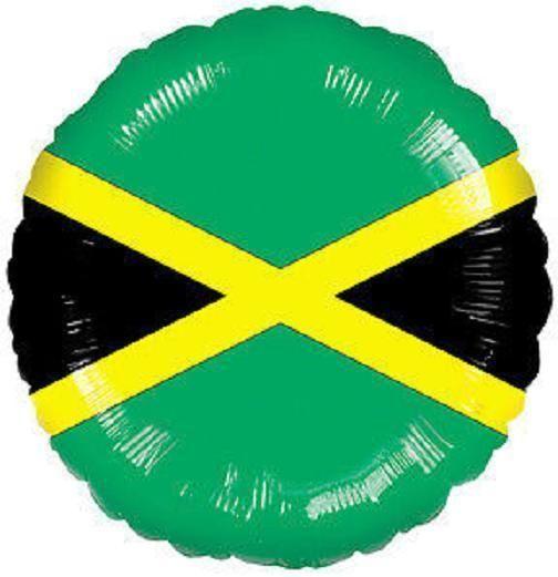 "JAMAICA FLAG 18"" balloons Festivals Parade WORLD CUP & FREE RIBBON | eBay"