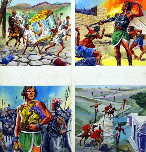 The Story Of Spartacus (Original) art by Francesco Palma