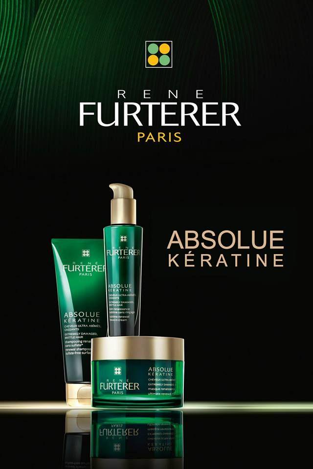 Rene Furterer Absolue Keratine  восстанавливающий шампунь, интенсивно восстанавливающая маска, совершенный восстанавливающий крем не требующий смывания.  * Не содержит сульфатов и силикона.  #AbsolueKeratine #ILoveSabina