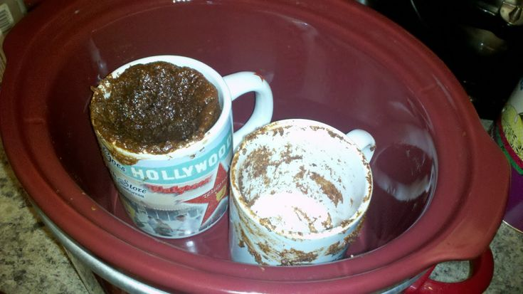 My Paleo CrockPot: Paleo Crockpot Brownie-In-A-Mug! - Has honey in it, if that is a concern!