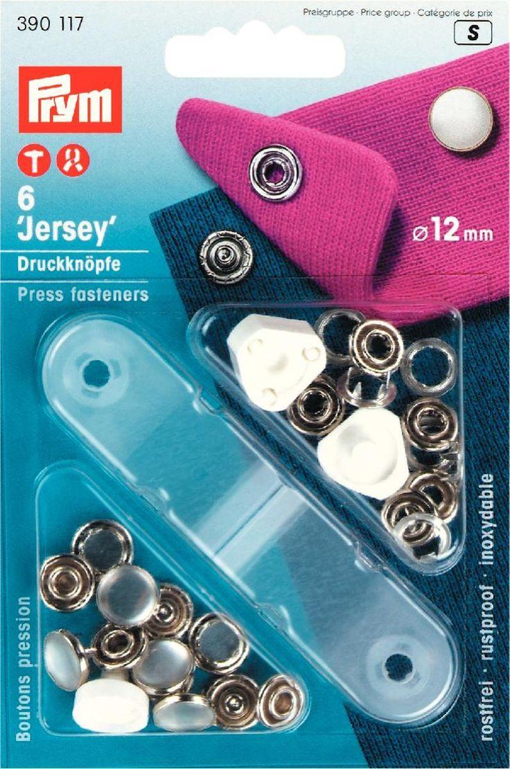 Prym drukknopen paarlemoer 12mm