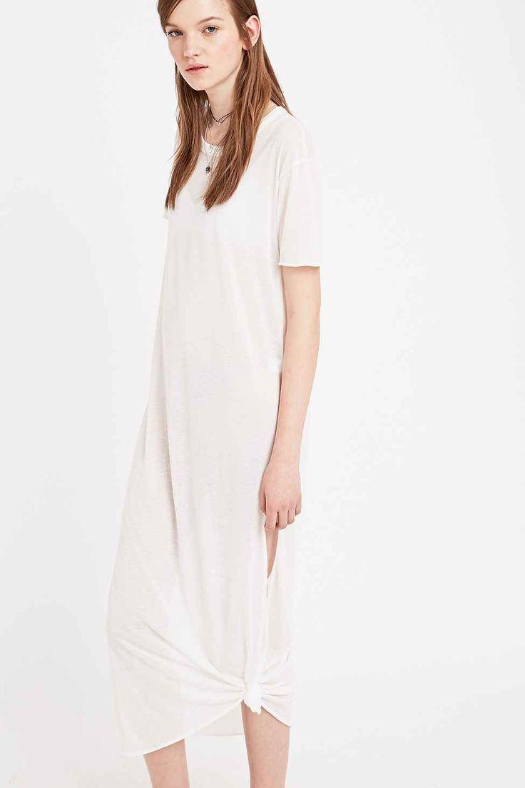 Mouchette Lounge Maxi Dress in White
