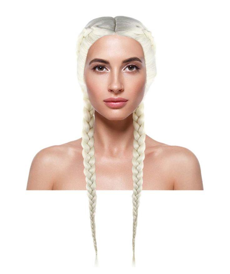 Kim Kardashian Boxer Braid Wig | Blonde Celebrity Wig | Premium Breathable Capless Cap