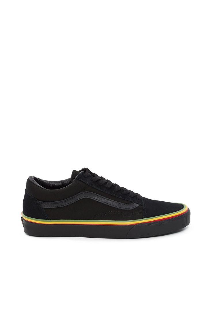 Vans, Rasta Old Skool Sneaker NOTE: Enjoy free ground shipping on ...