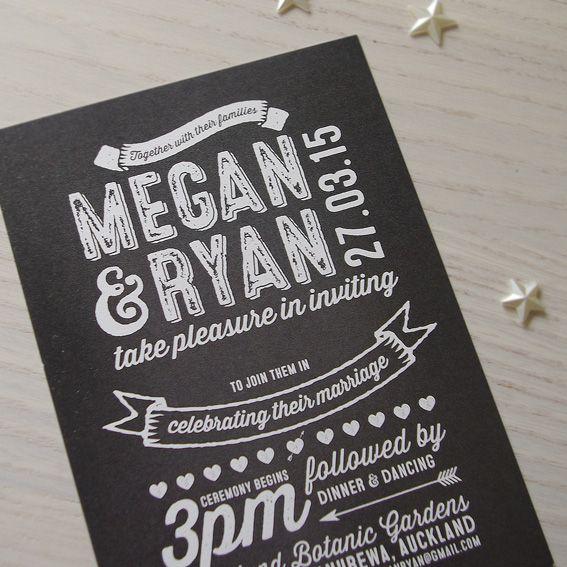 Blackboard © Paper Wedding www.papewedding.co.nz