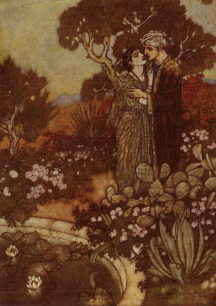 by Edmund Dulac (1882-1953)