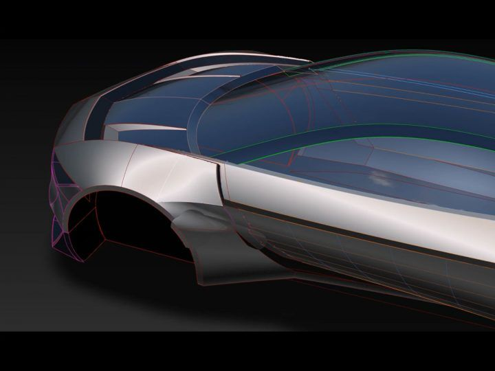 Car 3d Modeling In Autodesk Alias Surface Layout Analysis Concept Design Buick Riviera 3d Model