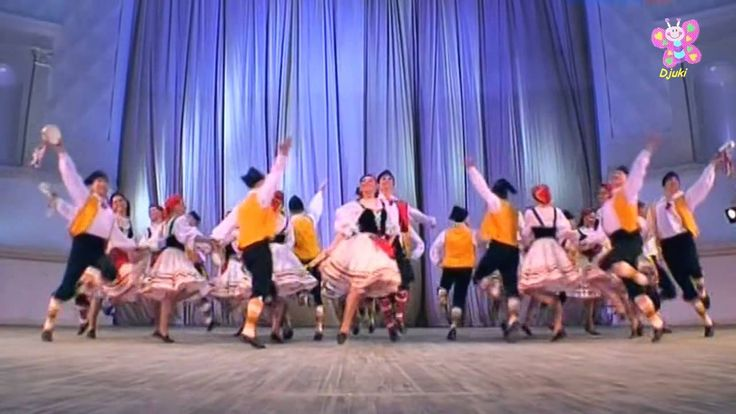 Sicilian Tarantella - Igor Moiseyev Ballet
