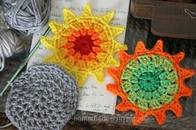 homemade@myplace: Make it ! Sun motif !!!!