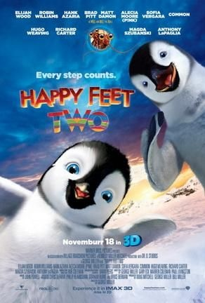 Happy Feet Two' movie quotes are hilarious! The adorable penguins are back, and they're funnier than ever in this 3D follow up to 2006's 'Happy Feet.' Some of the best lines come from Mumble and his young son, Erik, but other characters - like the lovesick Ramon (voiced by Robin Williams) - simply steal the show with great dialogue. And yes, the penguins are dancing and singing their fluffy little hearts out all over the Antarctic, too. Do you see a favorite 'Happy Feet Two' quote that isn't…