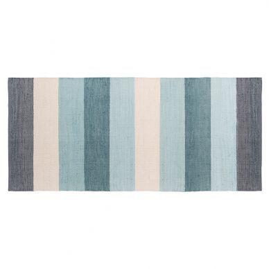 Sebra Teppich Pastellblau