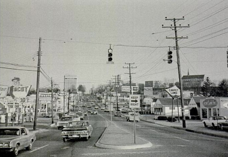 York road at Fairmount   Towson, MD  early 70's