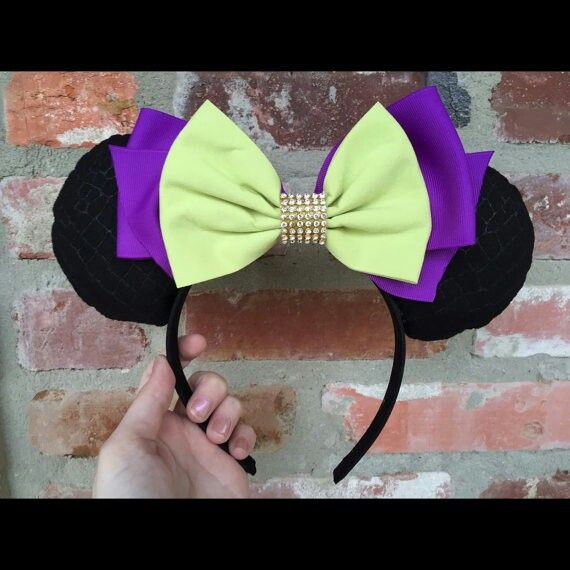 Maleficent Inspired Mickey Ears