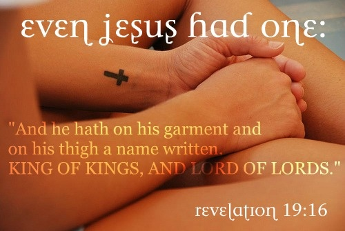 I'm not religious, but I thought this was interesting. #tattoo #jesus