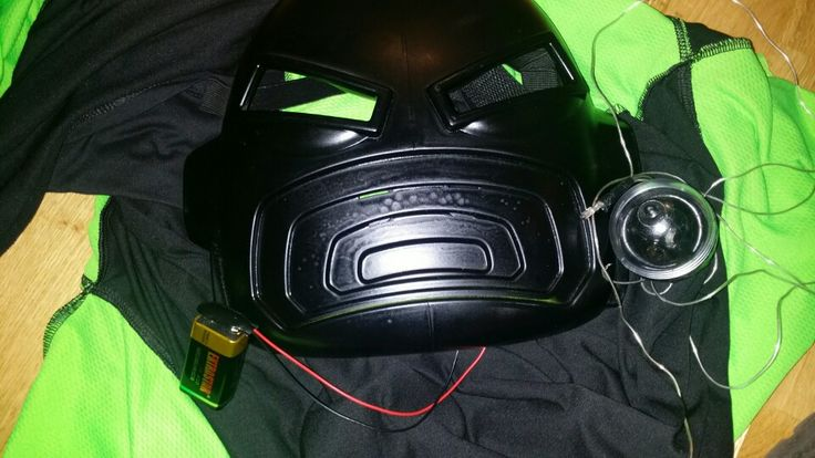 Deatils for the mask. I'm using a Ben 10 mask because of the voice changer