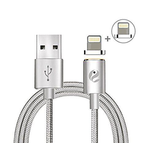 Amazing Magnet Lightning Kabel Hizek M Nylon Magnetisches USB Lightning Kabel Ladekabel Datenkabel High Speed Sync