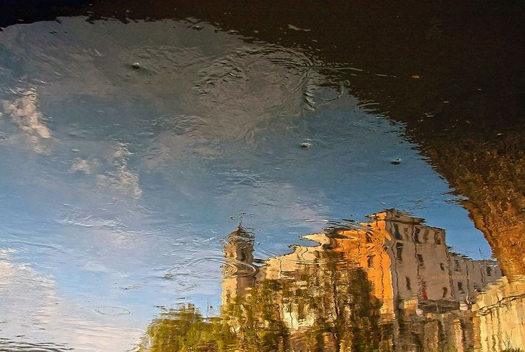 reflected