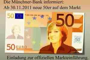 Einladung Geldschein 50