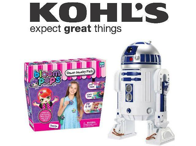 70% Of Kohl's Toy Deals w/ Extra 15% Off Purchase  Kohl's Cash Sale (kohls.com)