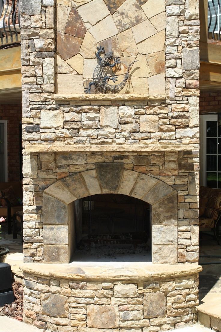 Top 25 Ideas About Stone Fireplaces On Pinterest Outdoor Fireplace Kits Outdoor Ideas And