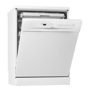 WHIRLPOOL - ADP7463WH _ Lave-vaisselle - Programmateur 6ème Sens : un programmateur intelligent qui permet d'économiser jusqu'à 50% d'eau, d'électricité et de temps, en adaptant toutes les 10 secondes la durée du cycle, la température et la quantité d'eau nécessaire au degré de salissure de votre vaisselle - 6 programmes dont Auto 40-70°C - Fonction Demi-charge - Panier supérieur réglable - Paniers modulables FlexiSpace - Tiroir à couverts - Départ différé jusqu'à 24 heures -