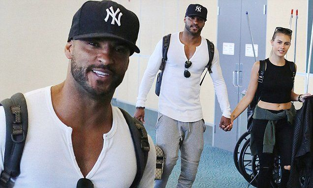 Ricky Whittle steps out with new girlfriend