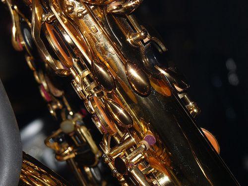 Love the sax up close