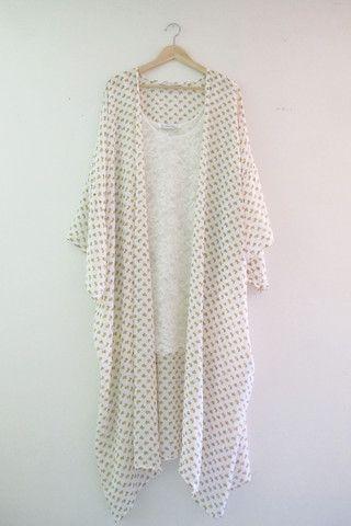 Bailey Floral Kimono   Modern Bohemian Maxi Kimono Cardigan - Velvet Moon   a modern bohemian boutique