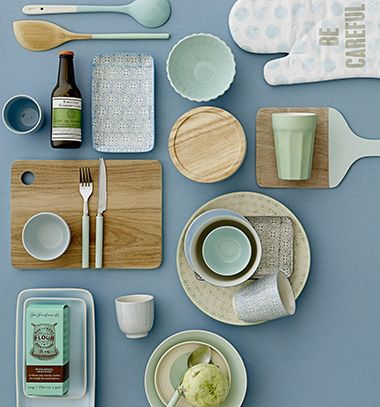 mint accesories for kitchen