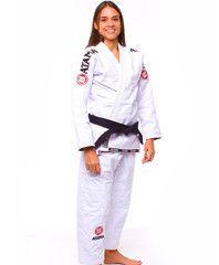 Atama Women's GI Mundial Model #9 - White Brazilian Jiu Jitsu Judo Kimono
