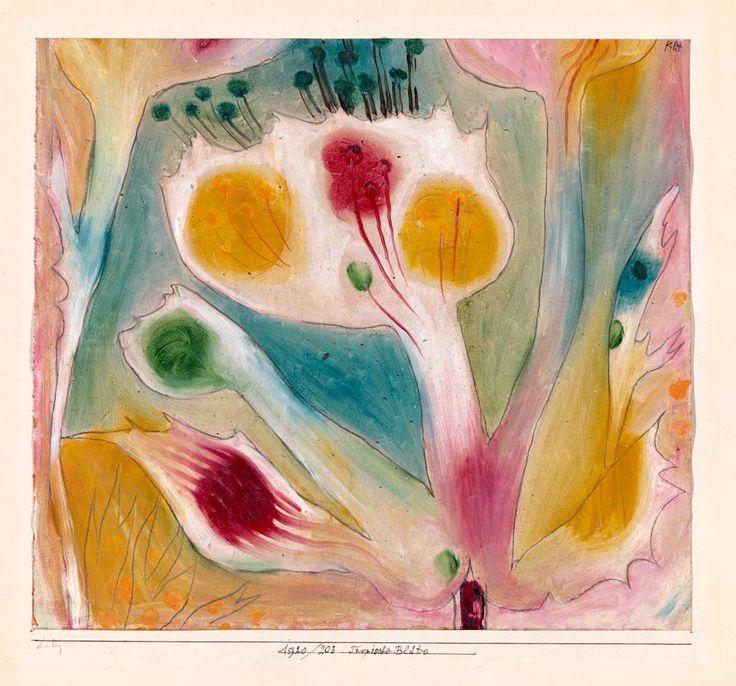 Moving Flowers, Paul Klee, 1926