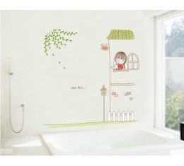 Hello Birdie wall sticker available at www.kidzdecor.co.za. Free postage throughout South Africa
