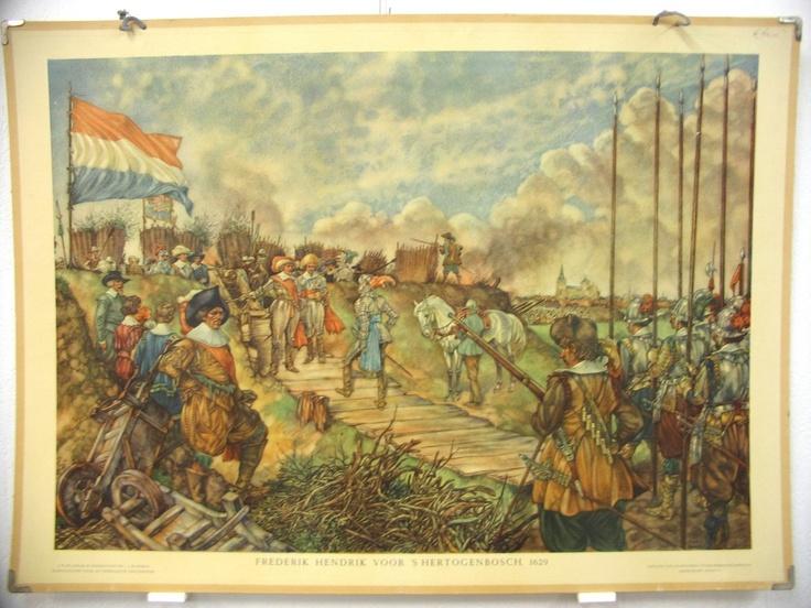 Frederik Hendrik voor 's Hertogenbosch 1629
