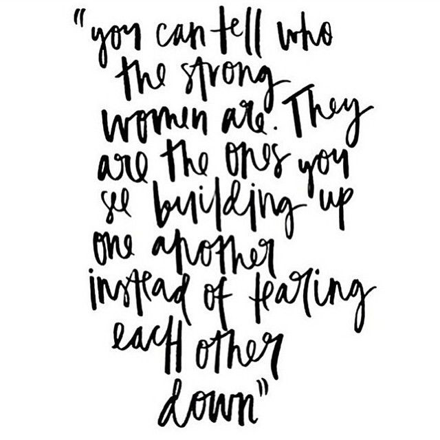 This. I am 100% thankful that I have surrounded myself with a group of strong, sweet, and supportive ladies who lift me up, instead of tearing me down. Women who embrace positivity, ladies who have me in their corner through the thick and through the thin! Ladies who are not intimidated by the successes of others, but rather inspired by it. I am inspired daily by each and every one of you! So eternally grateful to have found a place in this industry that feels absolutely right. #lovethis…