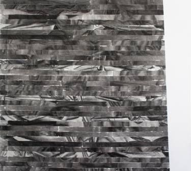 "Saatchi Art Artist Maia S Oprea; Drawing, ""TRANSMOGRAPHY 1"" #art, http://www.saatchiart.com/art/Drawing-TRANSMOGRAPHY-1/43191/2642544/view #time #reuse #charcoal"