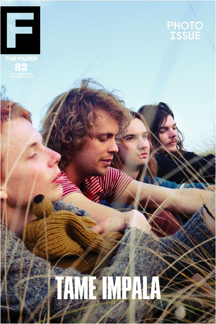 """Tame Impala / The FADER Issue 82 Cover 20"""" x 30"""" Poster"""