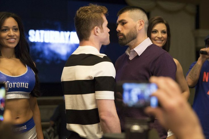 LAS VEGAS, NV -  Today at 4pm ET/1pm PT, watch the 'Toe To Toe' final press conference LIVE from the MGM Grand in Las Vegas right here. Along with Canelo Alvarez and Alfredo Angulo, scheduled to appear:   	Leo Santa Cruz vs. Cristian Mijares who will compete for Santa Cruz's WBC junior featherweight 	Carlos Molina vs. Jer