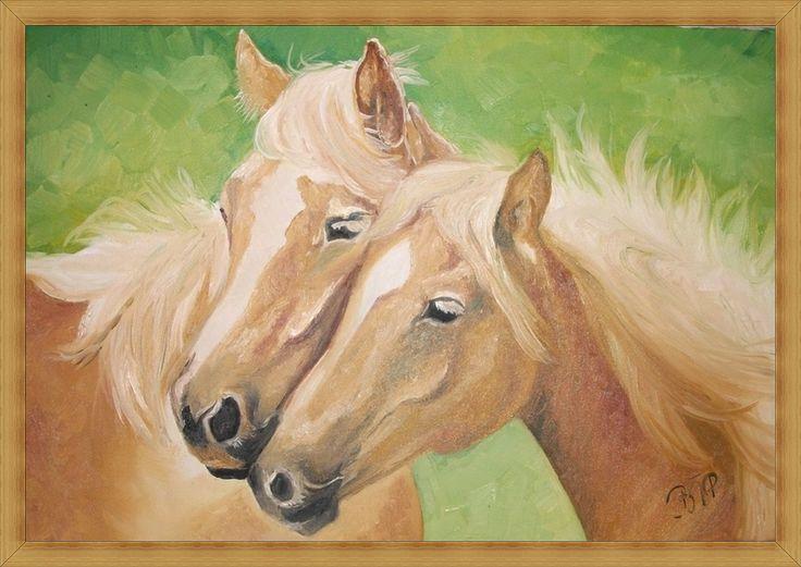 portrait of a horses