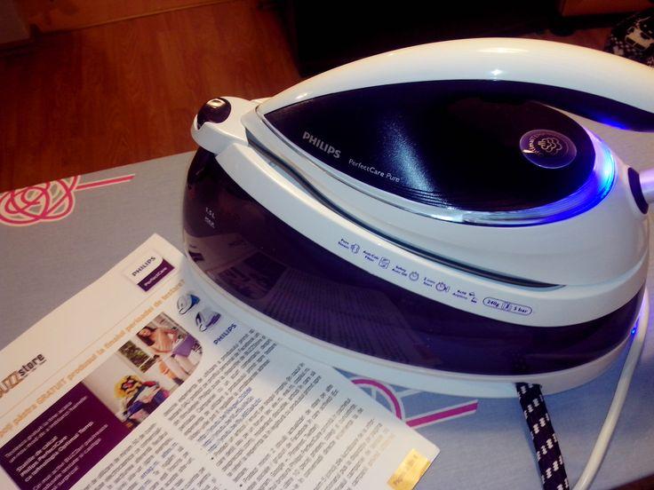 Multumesc BUZZStore pentru ocazia de a testa cea mai performanta statie de calcat din lume, Philips Perfect Care Pure !