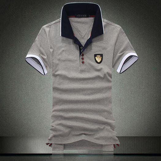 grey gucci mens t shirt [gucci-polo-shirt-men-5] - $36.00 : Cheap Polo Tees,Polo Tee Shirts,Discount Polo Shirts