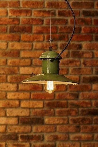 Зелёный фонарь. Bunker lamp.