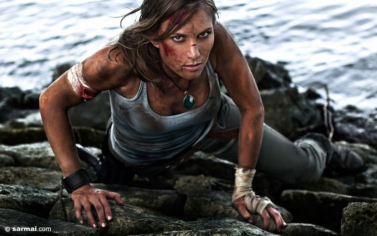 Filthy Tomb Raider 01 by ~r4di0fly3r on deviantART