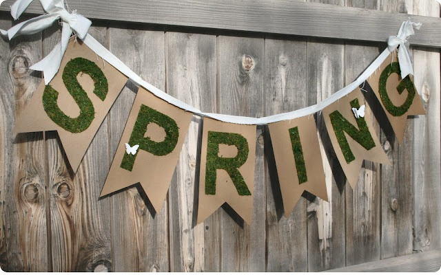 Craft Project - Silhouette Machine 'Spring' grass banner