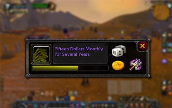 World of Warcraft! HAHA!