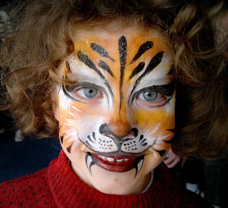 Célèbre Les 25 meilleures idées de la catégorie Maquillage lion sur  ZL25