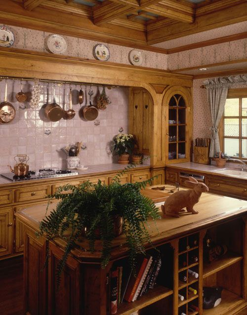French Country Kitchen Idea