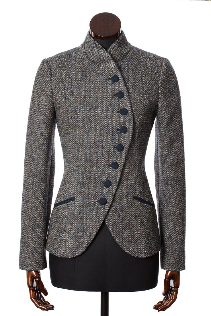 I'm going to attempt to track this one down while in Edinburgh (Blue Barleycorn Harris Tweed Emma Jacket Walker Slater Tweed Specialists)