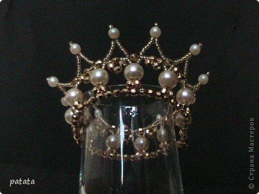 """Бисероплетение - Корона для принцессы из бисера """" Поиск мастер классов, поделок своими руками и рукоделия на SearchMasterclass.N"""