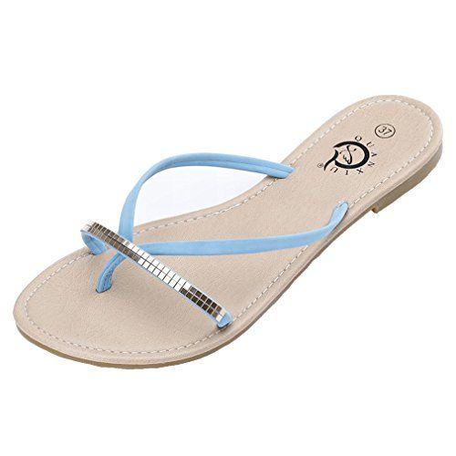SAMSAY Womens Flip Flop Sandals *** Find out more about the great product at the image link.