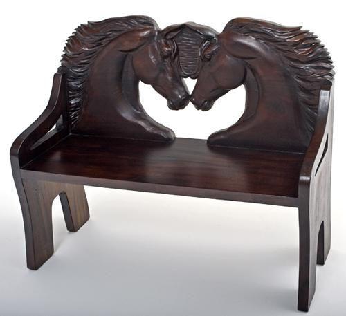 I'm in total love!  A whole page of horse furniture!  http://www.woodlandcreekfurniture.com/publishsite/index.cfm?pagename=mainpage_template&client_id=woodlandcreek&tablename=news&link_id=17302278&linkname=Horse%20Furniture